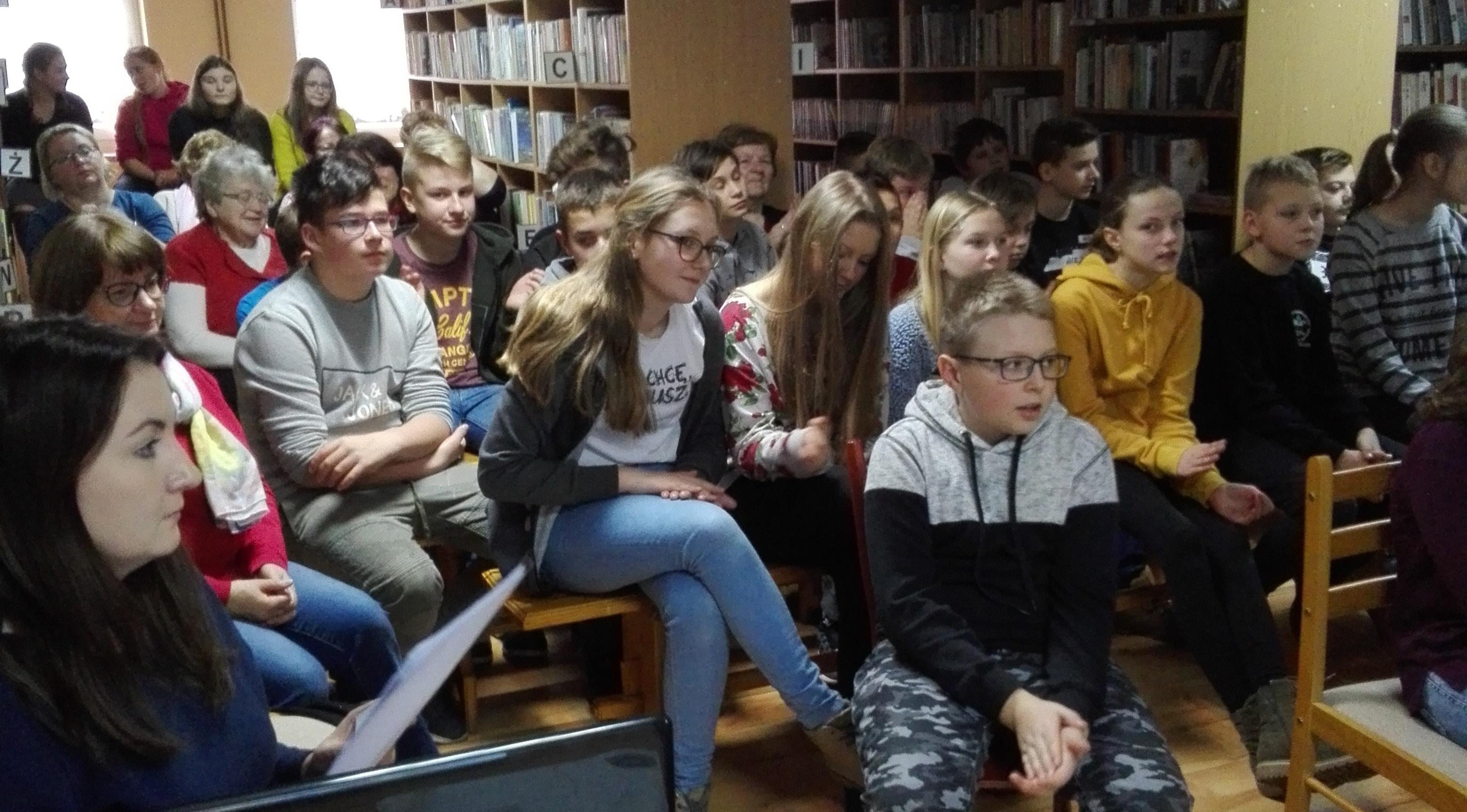 Spotkanie autorskie zAnną Gaudnik