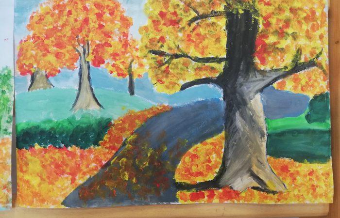 Malowanie jest łatwe – gminny konkurs plastyczny