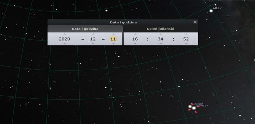 Wielka Koniunkcja Jowisza zSaturnem