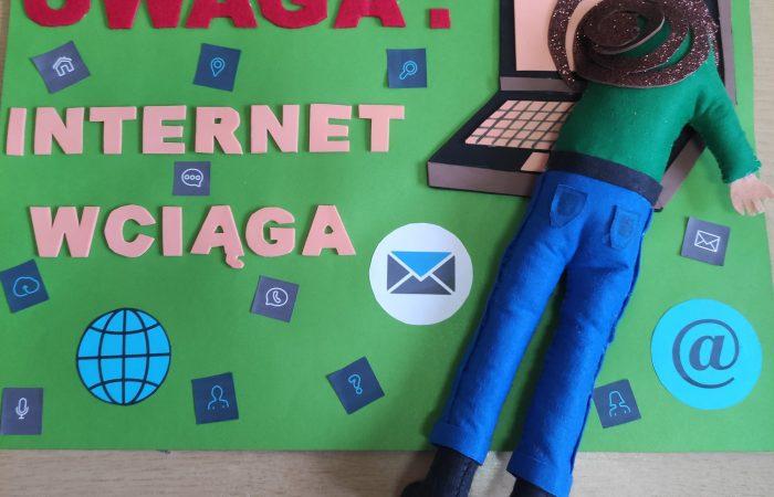 Bądź bezpieczny wInternecie – podsumowanie konkursu plastycznego