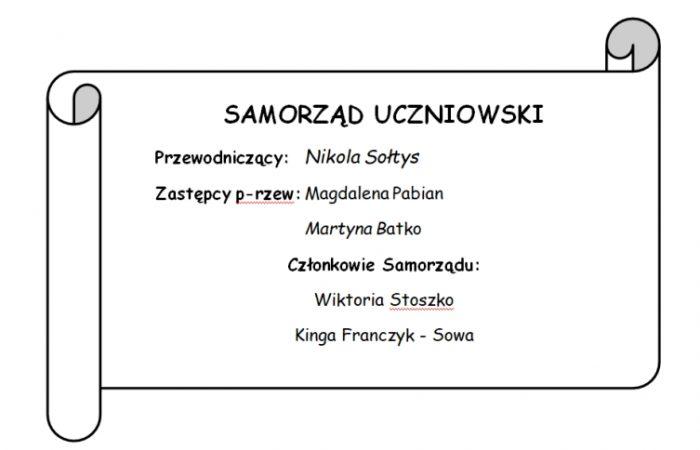 Wybory doSamorządu Uczniowskiego